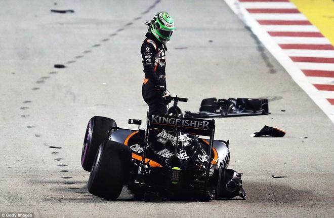 Rosberg dang quang, Hulkenberg dinh tai nan nat xe hinh anh 8