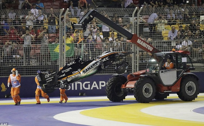Rosberg dang quang, Hulkenberg dinh tai nan nat xe hinh anh 9