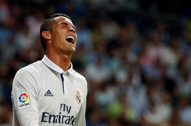 Ronaldo phan ung khi bi thay ra, Real lai mat diem hinh anh 4