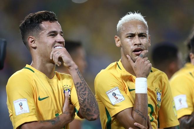 Neymar toa sang va do mau o chien thang 5-0 cua Brazil hinh anh 1