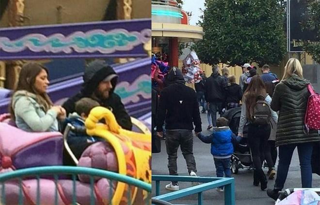 Messi du ngoan Disneyland trong ngay Barca thuc thu hinh anh 2