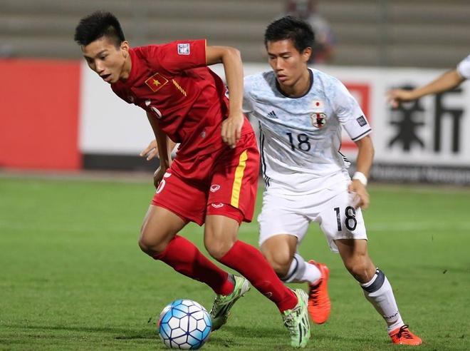 U19 Viet Nam vs U19 Nhat Ban anh 1