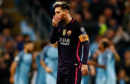Messi mo ty so, Barca van thua nguoc 1-3 Man City hinh anh