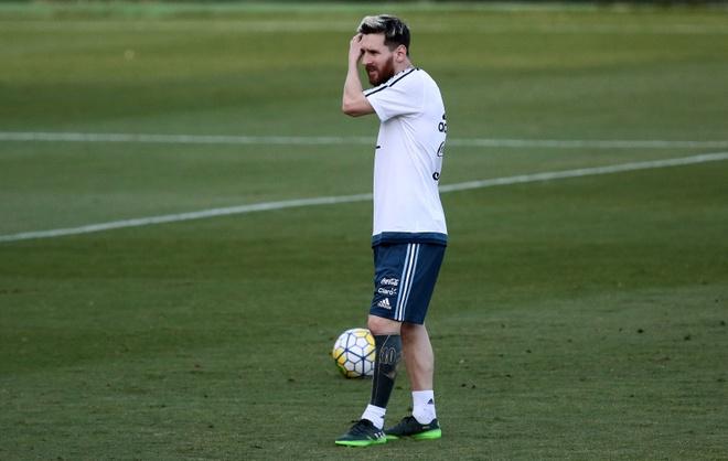 Messi xam hinh doc dao truoc dai chien Brazil hinh anh 1