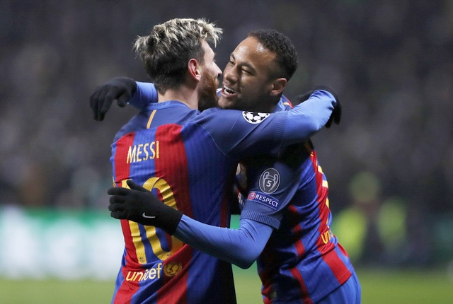 Neymar can bang ky luc cua Xavi, Oezil va Ibrahimovic hinh anh 1