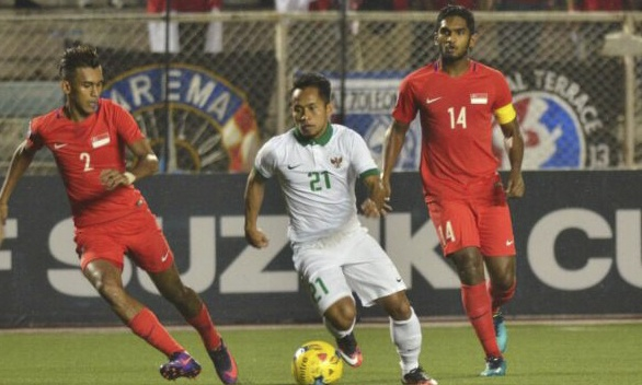 Indonesia doat ve ban ket AFF Cup cung Thai Lan hinh anh