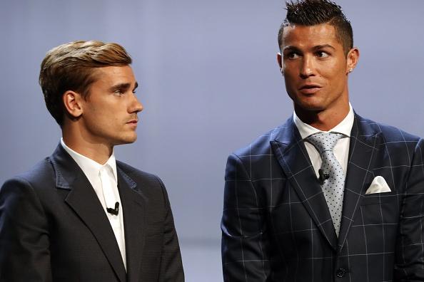 Griezmann giai thich ly do tung noi ghet Ronaldo hinh anh 1