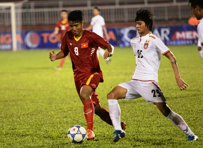 U21 Viet Nam vs U21 Myanmar anh 1