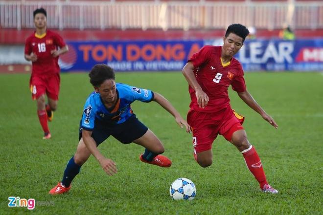U21 Viet Nam vs U21 Yokohama anh 1