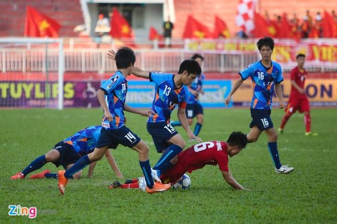 U21 Viet Nam vs U21 Yokohama anh 11