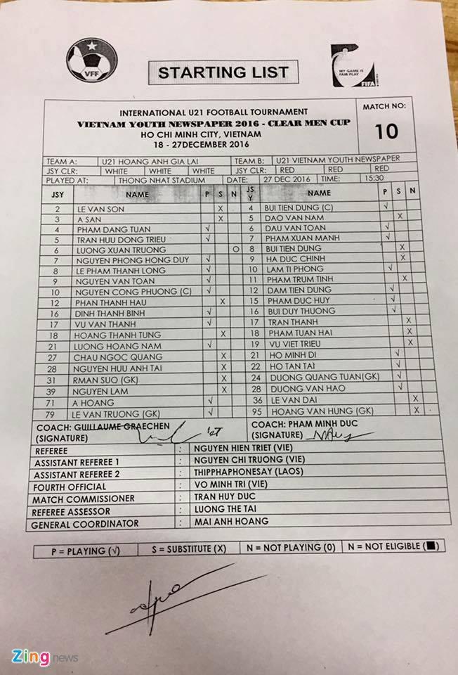 Van Toan ghi ban giup U21 HAGL danh bai U21 Viet Nam hinh anh 2