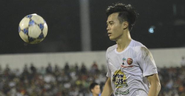Van Toan ghi ban giup U21 HAGL danh bai U21 Viet Nam hinh anh