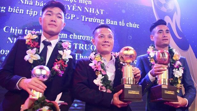 Thanh Luong gianh Qua bong vang Viet Nam 2016 hinh anh