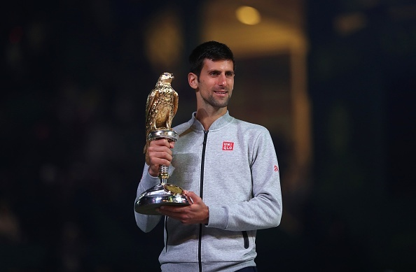 Danh bai Murray, Djokovic vo dich Qatar Open hinh anh 1
