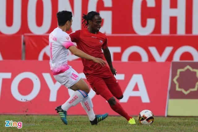 CLB Hai Phong vs Sai Gon anh 12