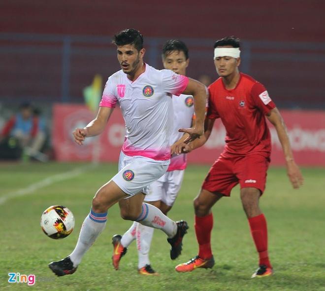 CLB Hai Phong vs Sai Gon anh 13