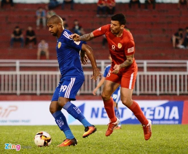 CLB Hai Phong vs Sai Gon anh 15