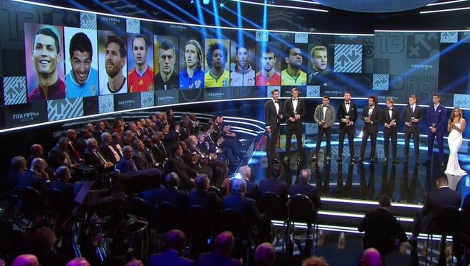 Ronaldo doat giai Cau thu hay nhat nam cua FIFA hinh anh 38
