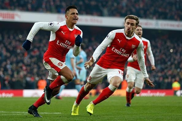 Arsenal vs Burnley anh 1