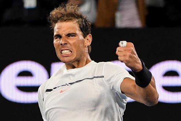 Nadal lan thu 5 vao ban ket Australian Open hinh anh