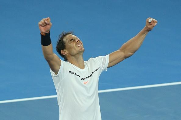 Nadal tao nen tran chung ket trong mo voi Federer hinh anh 1