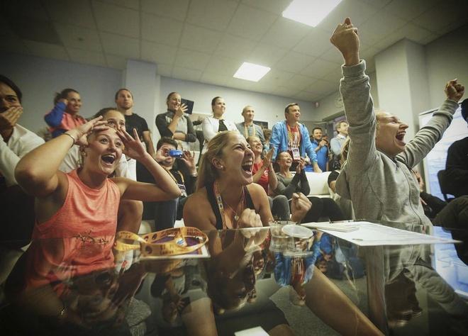 Federer vo dich Grand Slam anh 1