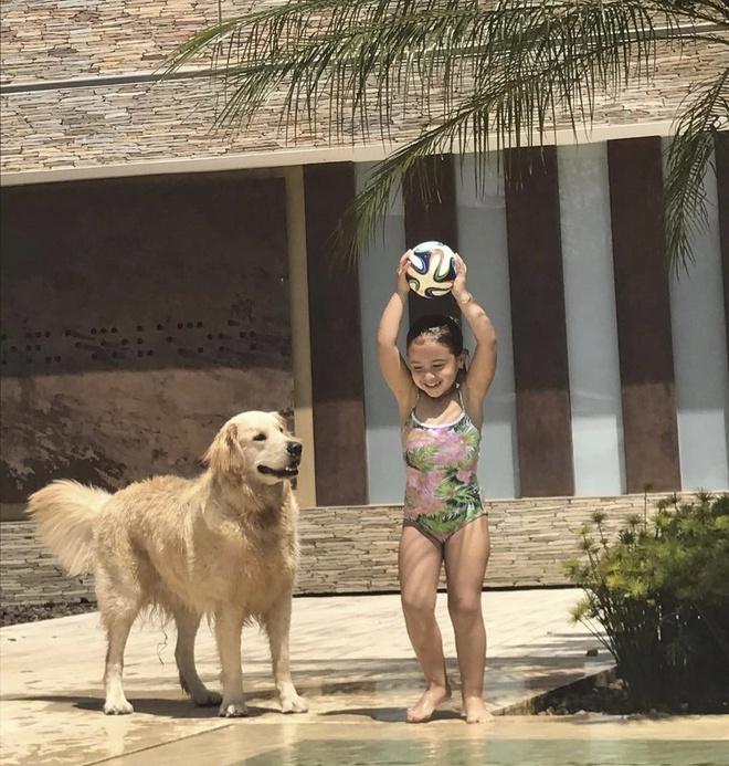 Con trai Messi choi dua cung cho khong lo hinh anh 4