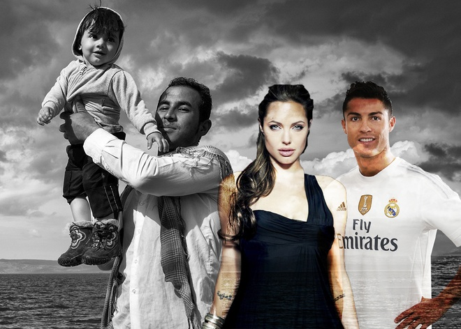 CR7 sat canh cung Angelina Jolie trong series truyen hinh hinh anh 1