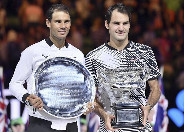 Federer muon cung Nadal tao nen cap danh doi trong mo hinh anh
