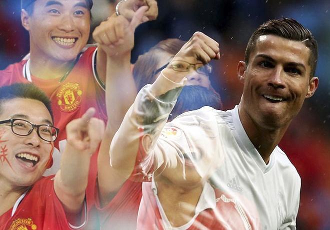 Ronaldo va MU duoc ham mo nhat o Trung Quoc hinh anh