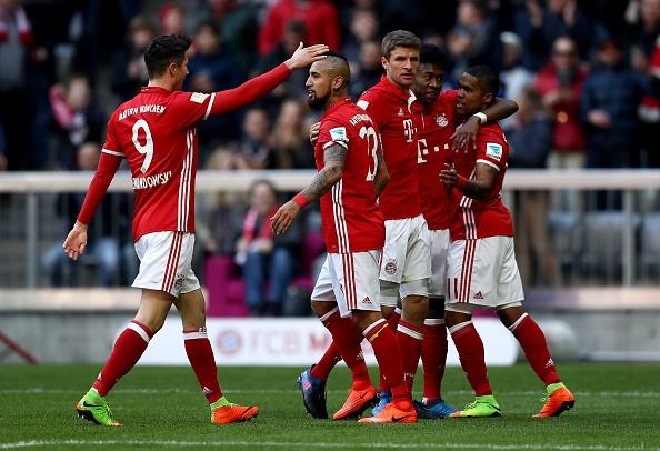 Bayern Munich vs Hamburg anh 17
