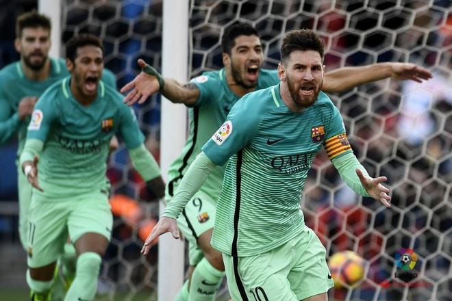 Atletico Madrid 1-2 Barcelona: Messi sam vai nguoi hung hinh anh 1