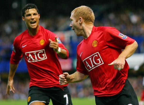 Scholes tin MU co the don Ronaldo anh 1