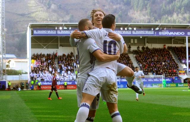 Eibar vs Real Madrid anh 18