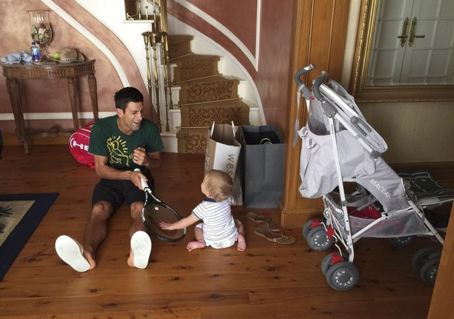 Djokovic bo uu tien quan vot vi con trai hinh anh 1