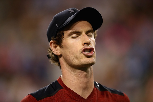 Andy Murray thua soc o tran ra quan Indian Wells hinh anh