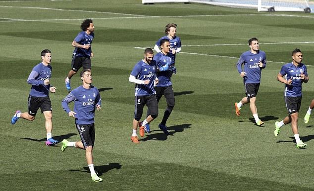 Ronaldo vui ve treu dua Bale anh 1
