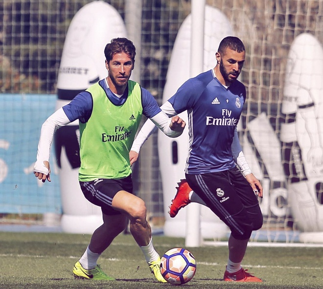 Ronaldo vui ve treu dua Bale anh 7