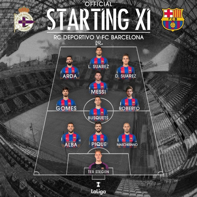 Deportivo vs Barcelona anh 8