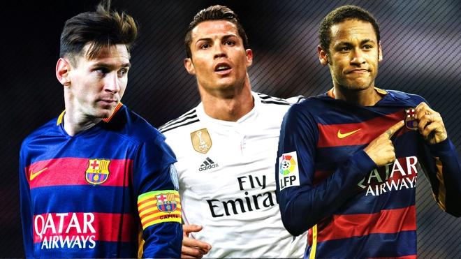 Ronaldo danh gia Messi thap hon Neymar hinh anh