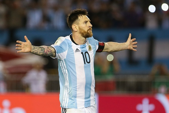 Messi lap cong, Argentina ha Chile de vao top 3 hinh anh