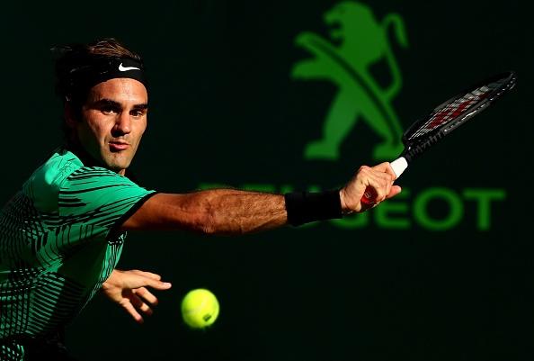 Federer doi dau Kyrgios o ban ket Miami Open hinh anh