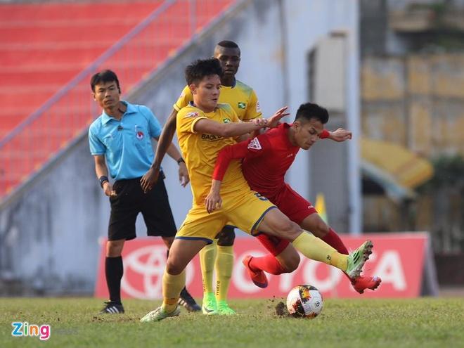 CLB Hai Phong 1-1 SLNA: Chu nha lo co hoi chiem ngoi dau hinh anh 15