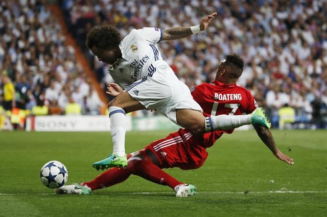 Ronaldo lap hat-trick, Real danh bai Bayern o hiep phu hinh anh 15