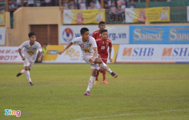 U19 HAGL vs U19 Myanmar anh 1