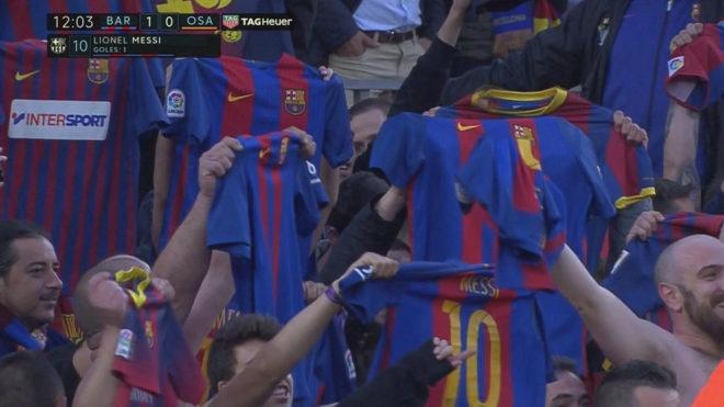 Messi lap cu dup, fan Barca tai hien man an mung dac biet cua Leo hinh anh 4