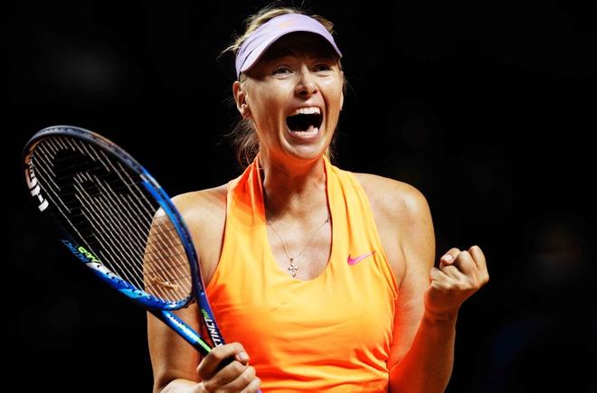 Sharapova tien sat ve du Roland Garros, Wimbledon hinh anh