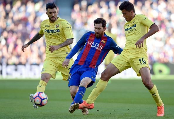 Messi lap cu dup va kien tao, Barca thang dam Villarreal hinh anh 10