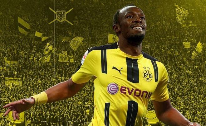 Usain Bolt tu tin canh tranh hieu suat ghi ban voi CR7, Messi hinh anh 1