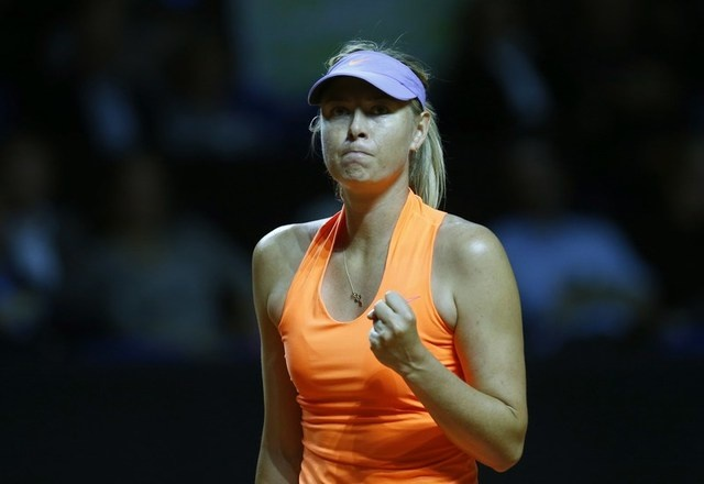 Sharapova co co hoi 'day do' Bouchard o Madrid Open hinh anh 1